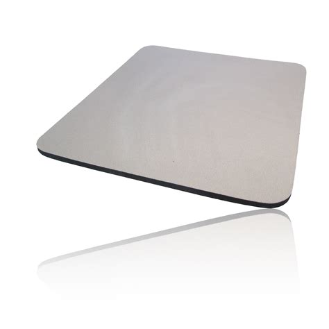 foam cloth covered pc computer mice mouse mat pad grey