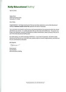 Recommendation Letter For A Substitute Sle Letter To Parents From Term Substitute Just B Cause