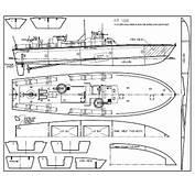 PT Boat Plans For Model Building