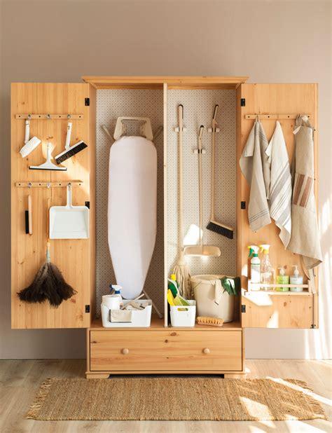 armario productos limpieza orden en los productos de limpieza