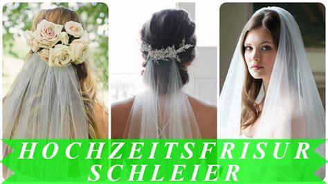 Brautfrisur Locken Schleier by Brautfrisur Locken Schleier Beste Mit Schleier With