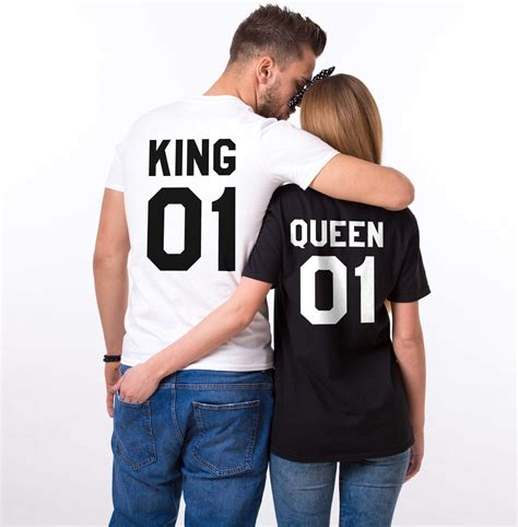 The Tshirt 01 king and shirts king 01 01 couples t shirt set