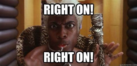 Right On Meme - ruby rhod from the 5th element right on right on meme