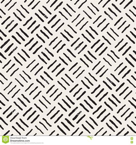 vector pattern rough vector seamless freehand geometric rough lines pattern