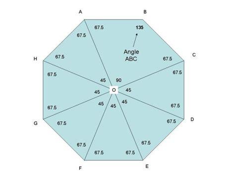 Interior Angle Of An Octagon solution dear sir help me abcdefgh is a regular