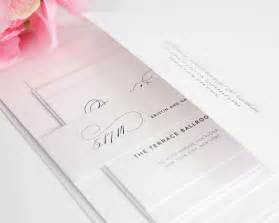 wedding invitations with large names in calligraphy wedding invitations