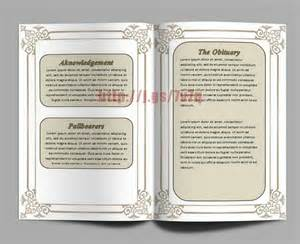 memorial templates microsoft word free printable funeral program template for ms