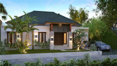 layout rumah adat bali desain rumah bapak ferry di papua