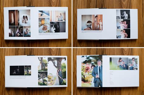 Parent Wedding Album Layout by Beautiful Clean Modern Album Design Templates For