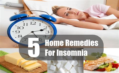 5 best home remedies for insomnia how to treat insomnia