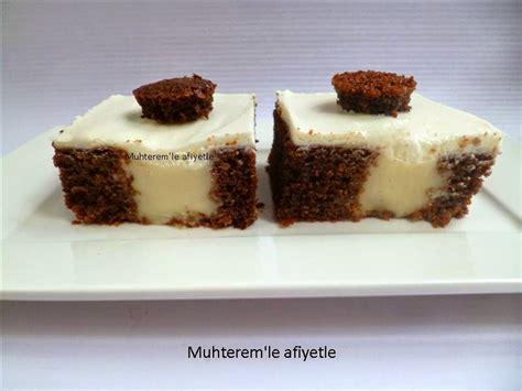 puding dolgulu kek poke kek muhterem le afiyetle puding dolgulu kek