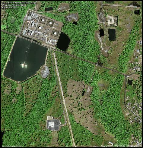 imagenes satelitales quickbird gratis quickbird satellite image oil facility nigeria