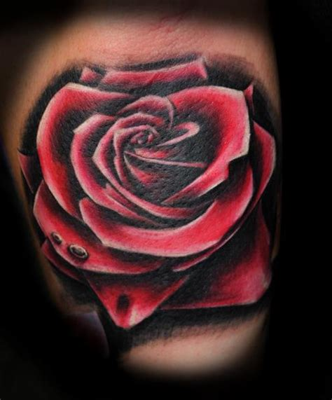 realistic rose tattoo tattoo collections