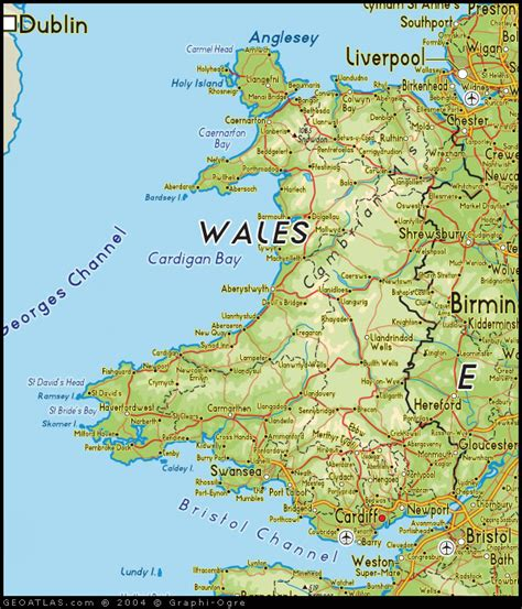 map of wales apgovernment2011 wales
