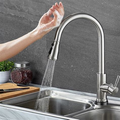 touch on kitchen faucet 2018 top 10 best touchless kitchen faucets in 2018 reviews the best spec