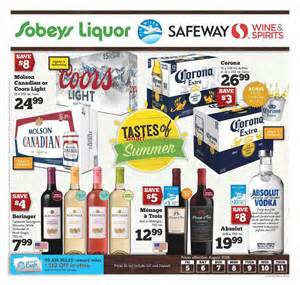 Brag Book Sobeys West Liquor Flyer August 5 To 11
