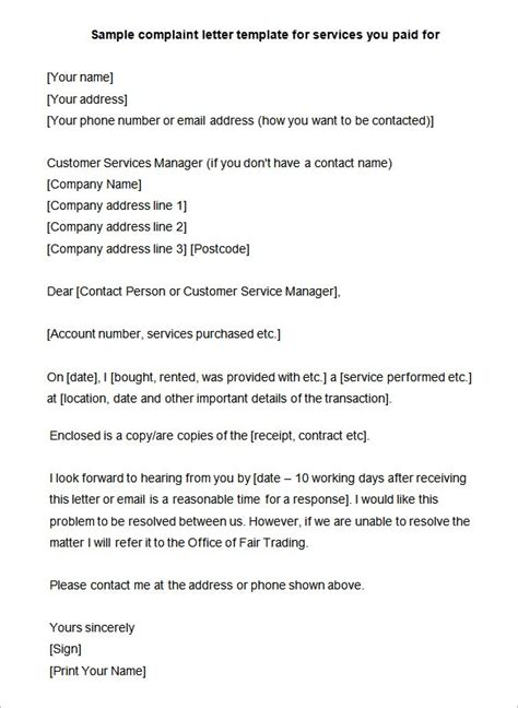 Complaint Letter Of Bad Attitude Sle Deputation Letter Format 15 Complaint Letters Templates Hr Templates Free Premium