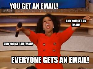 Email Meme - list building for newbies so easy your grandmother could