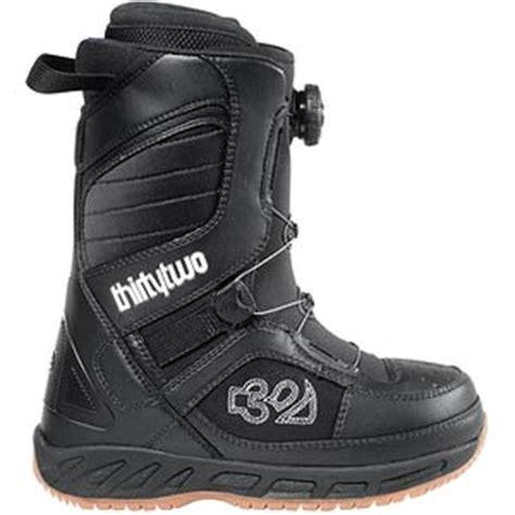 thirty two exus boa snowboard boots s glenn
