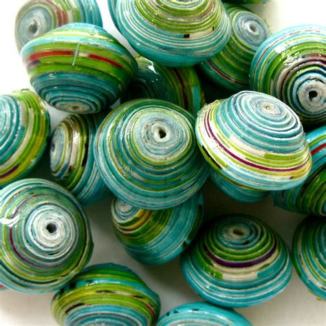 Paper Bead Crafts - ethical and handmade handmade jewlery
