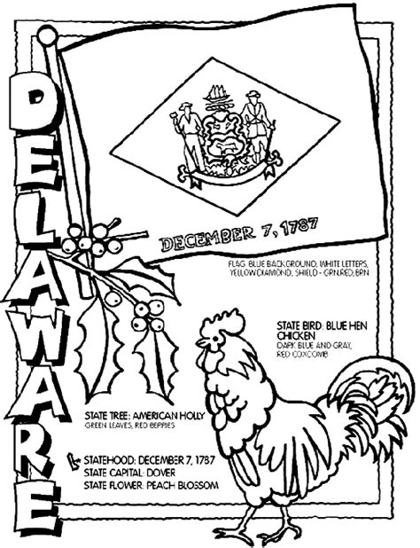 state coloring pages crayola delaware coloring page crayola com