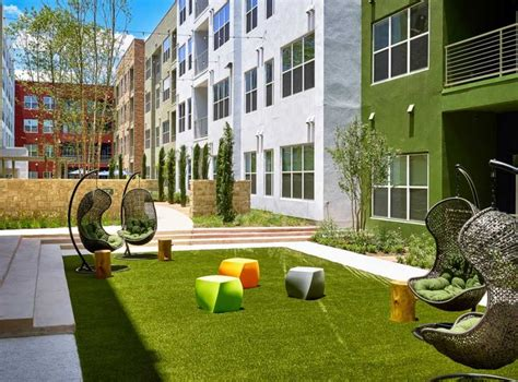 apartment courtyard 17 best images about amli at mueller on pinterest plank