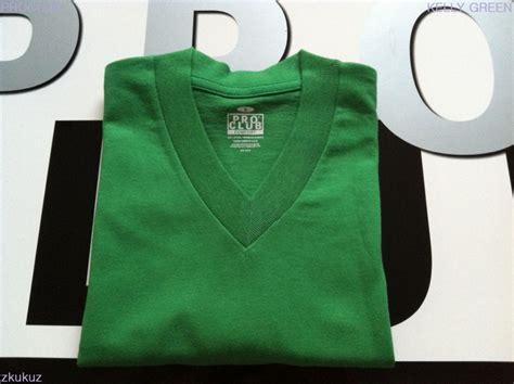 pro club comfort t shirts 1 new proclub v neck t shirt comfort kelly green plain tee