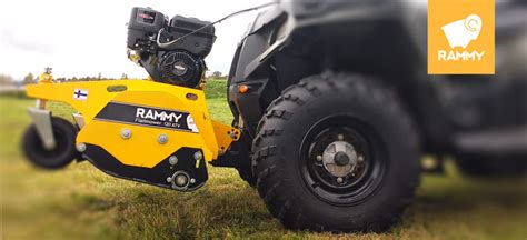 rammy photo rammy oy rammy snowblower 120 atv rammy flailmower 120 atv