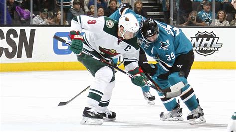 west coast swing san jose wild begins west coast swing in san jose nhl com