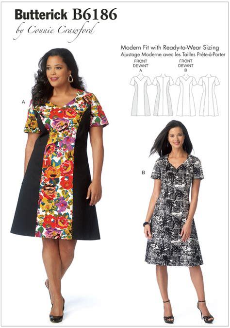 Patron Robe Simple Grande Taille - patron robe gratuit grande taille