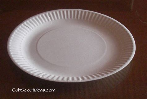 How To Make Paper Plate - cub scout activity paper plate shuffle