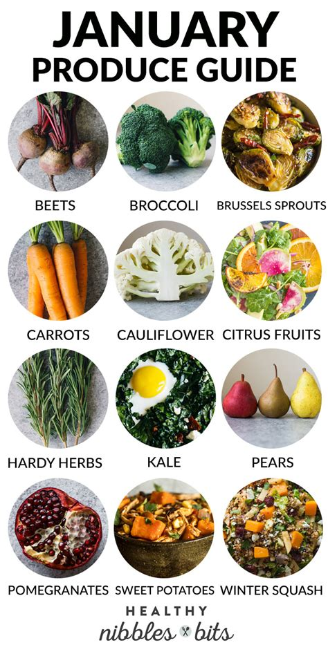 vegetables in season in january what to cook in january a produce guide healthy nibbles