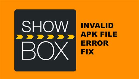 showbox apk file how to fix showbox invalid apk file error in bluestacks solved gizmo daily