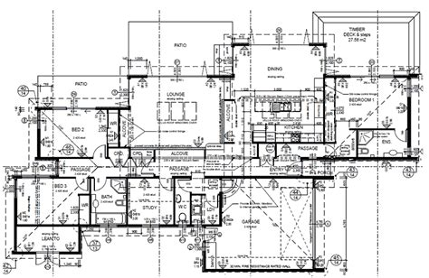 plan set the blenheim passive solar family home full set