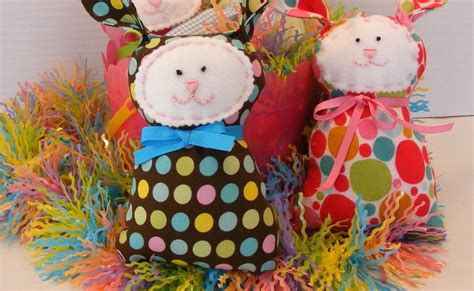 Quilted Cupcake by Quilted Cupcake Free Polka Dot Bunny Tutorial