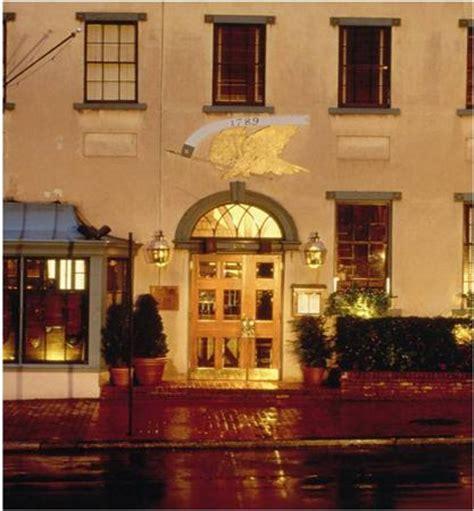1789 restaurant, washington dc georgetown menu, prices