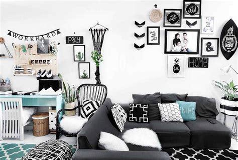 desain ruang tamu minimalis sederhana  modern  elegan