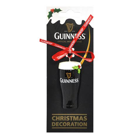 guinness guinness christmas pint ornament from guinness