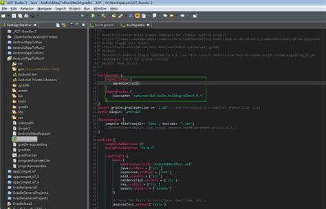 eclipse theme editor background minimalist gradle editor eclipse plugins bundles and