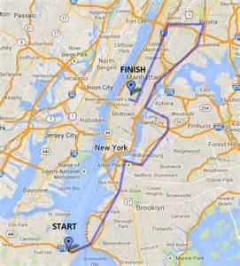 New York Marathon Course Map by Nyc Marathon Details Krallin Through The Nyc Marathon 2014