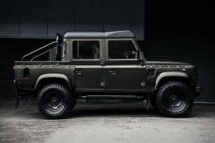 the kahn land rover defender cab truck is the ultimate suv