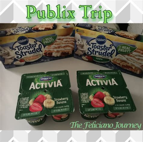 How Much Do Toaster Strudels Cost Publix Shopping Trip 8 14 15 Oop 0 87 The Feliciano
