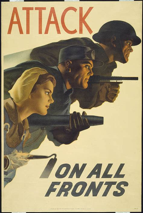 archived second world war war and posters
