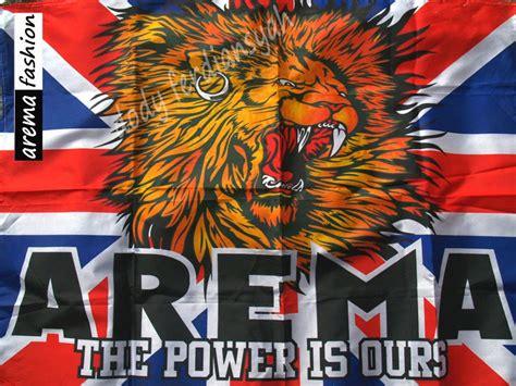 Kaos Bendera Inggris Hitam arema fashion bendera arema