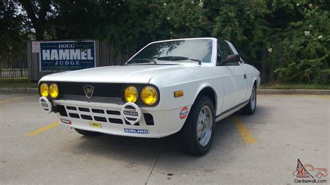 1981 lancia zagato other make coupe