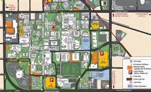 state cus map map of asu