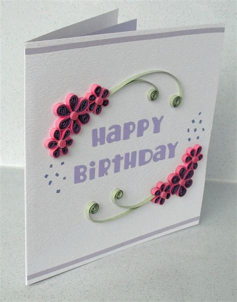 how to make quilling greeting cards 25 best ideas about quilling birthday cards on