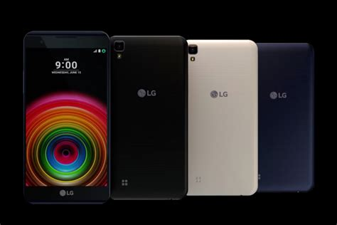Hp Lg X Series lg targets midrange buyers with slew of x series smartphones