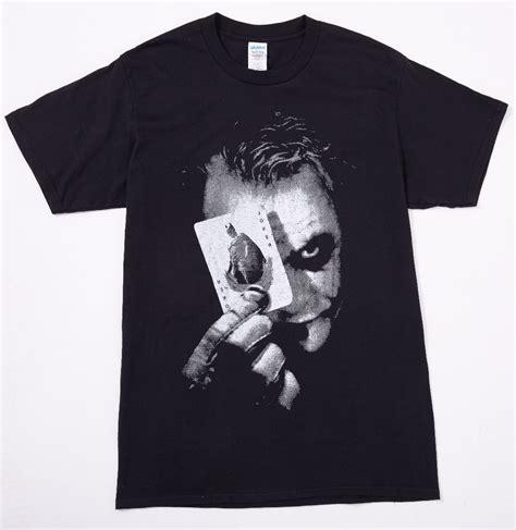 Joker T Shirt batman the joker print cotton t shirt o neck