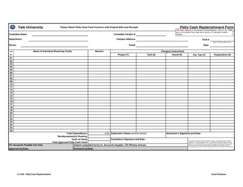 Template Reconciliation Template Excel Petty Reconciliation Template Excel